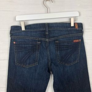 7 for all Mankind Dojo Blue 7 Pocket Jeans Sz 29